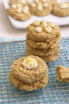 Lemon Ricotta Breakfast Cookies - Gluten Free Recipe on FamilyFreshCooking.com