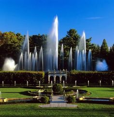 Longwood Gardens in Wilmington, Delaware.