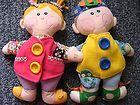 "For Sale - 2001 Hasbro Playskool DRESSY BESSY & DAPPER DAN Plush Dolls 16"" LOT- Cute!!"