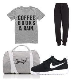"""""""sportsgirl"""" by josiasashlee on Polyvore featuring NIKE and Donna Karan"""