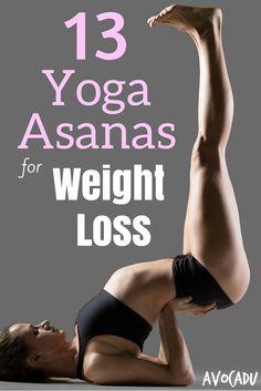 13 Yoga Asanas for Weight Loss Pin
