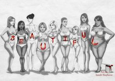 Beautiful Body Types by Isaiah Stephens Image Beautiful, Beautiful Women, Beautiful Body, Beautiful Figure, Beautiful Things, Body Love, Loving Your Body, Ideal Body, Isaiah Stephens