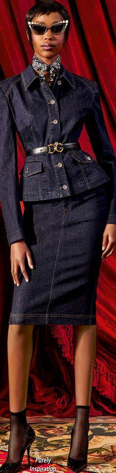 Denim Fashion, Womens Fashion, Double Denim, Business Dresses, Denim Outfit, Slimming World, Denim Skirt, Peplum Dress, Healthy Lifestyle