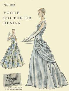1955.  (Poss gown idea)