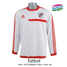 Buzo River Plate Sweat Top Blanco/Rojo  Marca: Adidas 100020G87488001    $ 529,00 (U$S 92,79)