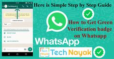 How to Get Green Verified Badge on Whatsapp Number  So do you want to know how to get Green verified badge on WhatsApp ? and also wish to get a green tick on your WhatsApp number? If yes after that you are at ideal location. Today we are below with the Method to verify WhatsApp number conveniently.  A leading chat app is a part of our every day life to stay linked to our precious people as well as with those we cannot fulfill on a daily basis.