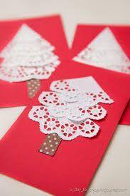Resultado de imagen de tarjetas navideñas hechas a mano manualidades
