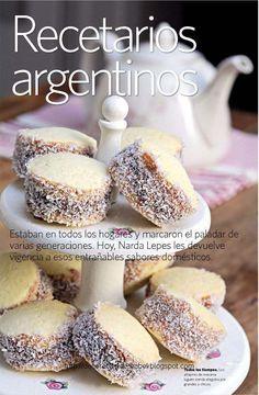 Argentina - Alfajores de maizena con dulce de leche!!