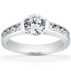 Inspiring!! The Taryn Collection! ™ Diamond Engagement Ring (TQD 0518) for about $1755
