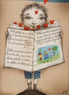 Biblio Letras : POEMA DEL ENAMORADO DE LA MAESTRA, de Elsa Bornema...