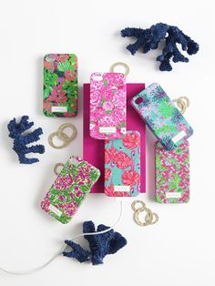 Now available, Lilly Pulitzer Fall 2012 phone cases! $25.50