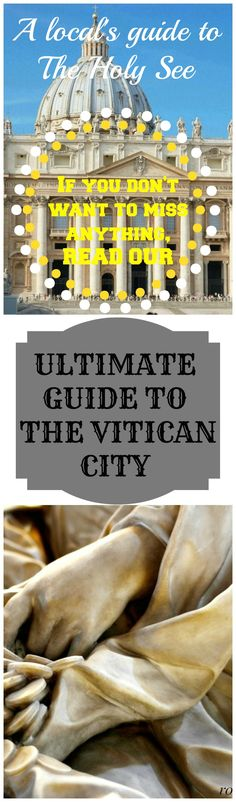 The most detailed, complete and up-to-date guide to the Vatican City. I have lived most of the last two decades in the eternal city of Rome and tried to explore as much of this ancient city as possible. While you don't need to stay here for years to visit the most famous landmarks and the hidden gems of Rome, you can't see everything if you stay only for a day or two, except the few things in the city center.