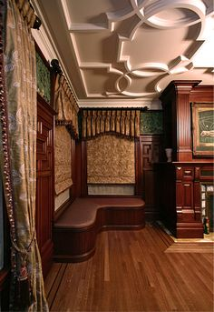 James Northey wood finishing, Ravi Design curtains