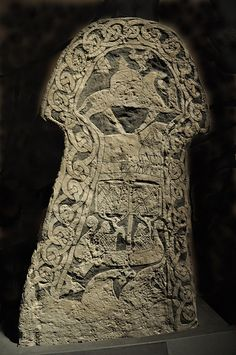 """Picture stone from Lillbjärs, Gotland. More picture stones at """"Historiska museet"""": mis. Arte Viking, Viking Art, Viking Runes, Viking Ship, Vikings, Historical Artifacts, Ancient Artifacts, Ancient Aliens, Ancient History"""