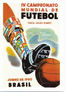World Cup Posters - 1950