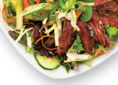 Thai Steak Salad: Sweet and spicy, this Thai-inspired salad has plenty of crunch and fresh herbs.