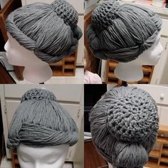 Dr. Who Weeping Angel Cosplay Yarn Wig by VeronicaTheViking on Etsy https://www.etsy.com/listing/603981233/dr-who-weeping-angel-cosplay-yarn-wig