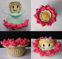 Crochet Flower Child Pattern