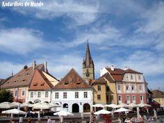 Sibiu, Romênia - a cidade onde os telhados tem olhos