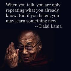{ Listening } Words Of Zen Quotes Zen Quotes, Quotable Quotes, Wisdom Quotes, Book Quotes, Great Quotes, Quotes To Live By, Positive Quotes, Motivational Quotes, Life Quotes