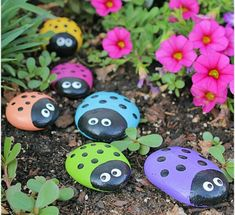 30 Awesome and Cute Rock Painting Ideas