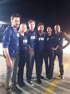 Criminal Minds Cast - this is my SHOW!  Love them!