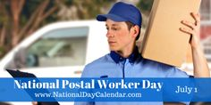July 1, 2015 - NATIONAL POSTAL WORKER DAY - NATIONAL GINGERSNAP DAY - NATIONAL U.S. POSTAGE STAMP DAY - NATIONAL CREATIVE ICE CREAM FLAVORS DAY