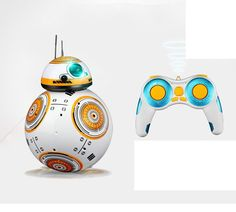 2017 New Star Wars RC Remote Control  Robot Star Wars 7 2.4G remote control  intelligent Figures Toys small ball