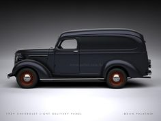 1939 Chevrolet Light Delivery Panel