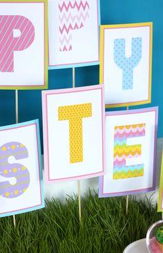 I heart the Easter Bunny Party « Bella Paris Designs