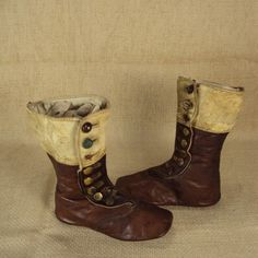 19th century children's boots, before there were sneakers...