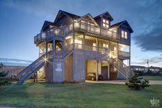 Outer Banks Vacation Rentals | Waves Vacation Rentals | Wave Safari #726 | (8 Bedroom Oceanside House)