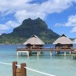 Bora Bora island is the most famous and wonderful place to vacation in all the world. Have a look my last summer trip pictures to bora bora island. Trip To Bora Bora, Bora Bora Island, Summer Travel, Wonderful Places, Around The Worlds, Vacation, Building, Water, Pictures