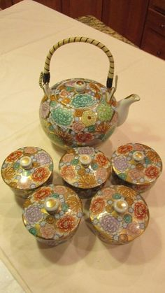 Kutani Kiku (Chrysanthemum) Pattern. | eBay!