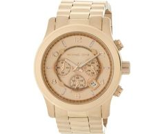 Michael Kors Watches Men's Rose Gold Oversize Runway Watch ►► http://www.gemstoneslist.com/mens-watches/michael-kors-mens-watches.html?i=p
