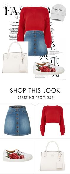 """Sin título #70"" by bangmomo on Polyvore featuring moda, LE3NO y River Island"