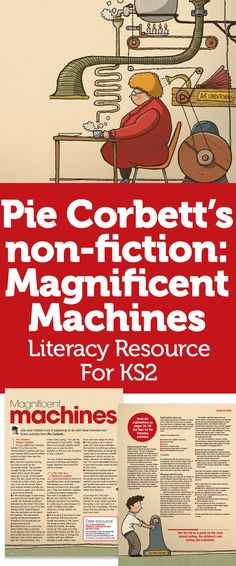 Pie Corbett's non-fiction: Magnificent Machines – Literacy Resource For Talk 4 Writing, Teaching Writing, Writing Ideas, Leadership Activities, Leadership Quotes, Leadership Traits, Group Activities, Primary Teaching, Teaching Resources