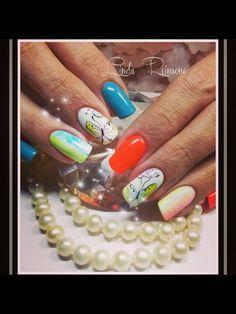Ombré nails, aquarelle nail art Nail Art, Nails, Finger Nails, Ongles, Nail Arts, Nail Art Designs, Nail, Nail Manicure