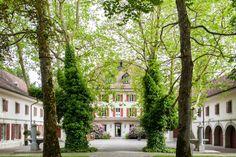 Schloss Gerzensee Bern, Location, Switzerland, Mansions, House Styles, Home Decor, Decoration Home, Room Decor, Villas