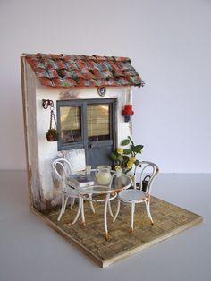 Miniature Room Box by Toshio Honzawa - vucuk - Incredible! Miniature Room Box by Toshio Honzawa – vucuk Incredible! Miniature Room Box by Toshio Honzawa – vucuk Dollhouse Miniature Tutorials, Miniature Rooms, Miniature Kitchen, Miniature Crafts, Miniature Houses, Miniature Furniture, Diy Dollhouse, Dollhouse Furniture, Dollhouse Miniatures
