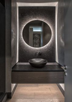 Dark brown granite powder room (With images) Bathroom Design Luxury, Modern Bathroom Design, Simple Bathroom, Placard Design, Toilette Design, Granite Bathroom, Slate Bathroom, Bathroom Closet, Master Bathroom
