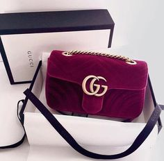 I'm obsessing over this Red Velvet Gucci