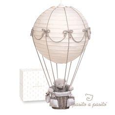 Pasito Babyzimmerlampe Ballon grau
