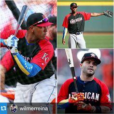 #Repost @wilmerreina with @repostapp.・・・Salvador Pérez, José Altuve y Alcides Escobar serán titulares por la Liga Americana en el #AllStarGame #Venezuela #MLB #baseball Tremendo foto bro
