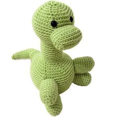 Dinosaur Stuffed Animal Crochet Pattern....now I just need to learn how to crochet :) this is too cute
