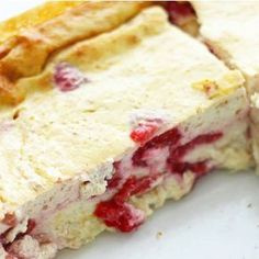 Addicted to quark casserole (low carb) - with only 4 Süchtig nach Quarkauflauf (Low Carb) – Mit nur 4 Zutaten Addicted to Quark Bake (Low Carb) – With Only 4 Ingredients Low Carb Deserts, Low Carb Sweets, Healthy Sweets, Law Carb, Dieta Paleo, Eat Smart, Paleo Dessert, Low Carb Recipes, Healthy Recipes