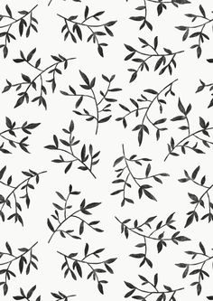 BLACK LEAVES Art Print by KIND OF STYLE