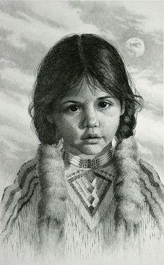 Niña nativa americana