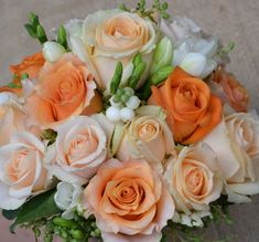 peach bouquet - Google Search