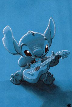 Day 11: Favorite Animal Side-Kick Stitch from Lilo  Stitch, for obvious reasons I do not want to state.